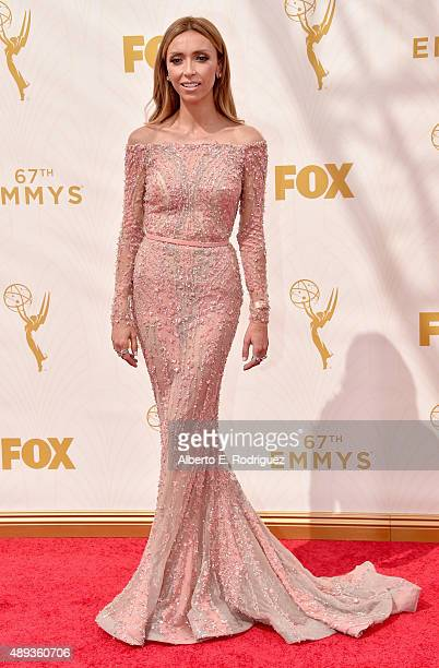 TV personality Giuliana Rancic attends the 67th Emmy Awards at Microsoft Theater on September 20 2015 in Los Angeles California 25720_001