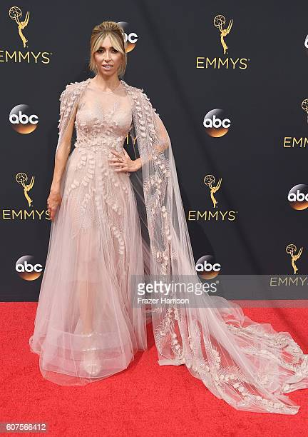 TV personality Giuliana Rancic attends the 68th Annual Primetime Emmy Awards at Microsoft Theater on September 18 2016 in Los Angeles California