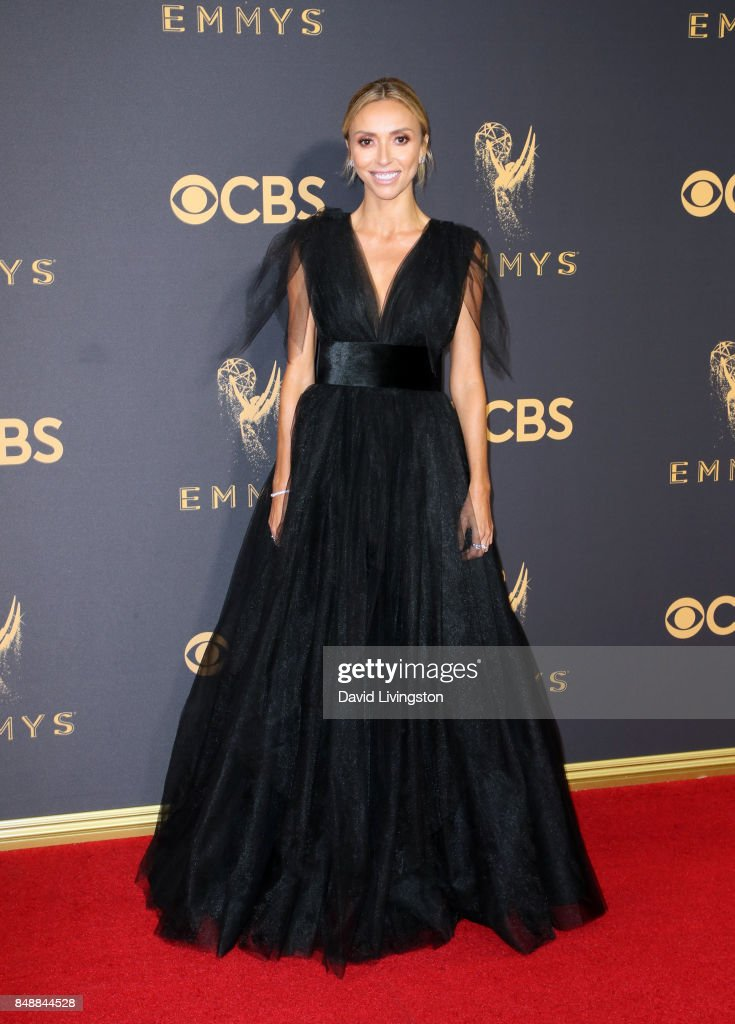 TV personality Giuliana Rancic attends the 69th Annual Primetime Emmy Awards - Arrivals at Microsoft Theater on September 17, 2017 in Los Angeles, California.