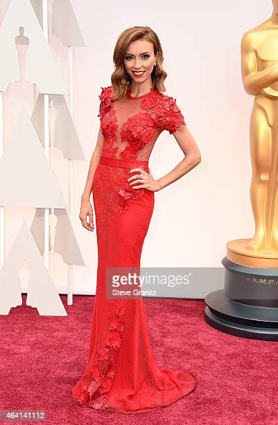 TV personality Giuliana Rancic attends the 87th Annual Academy Awards at Hollywood Highland Center on February 22 2015 in Hollywood California