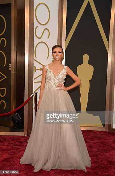 Personality Giuliana Rancic attends the Oscars held at Hollywood Highland Center on March 2 2014 in Hollywood California