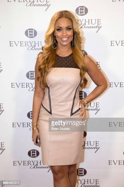 TV personality Gizelle Bryant attends Every Hue Beauty PopUp at The Showroom on October 25 2017 in Washington DC