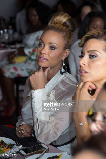 TV personality Gizelle Bryant attends 'She Is Empowered' Business Branding and Wealth Building Dinner Series at Loft 5900 on September 15 2017 in...