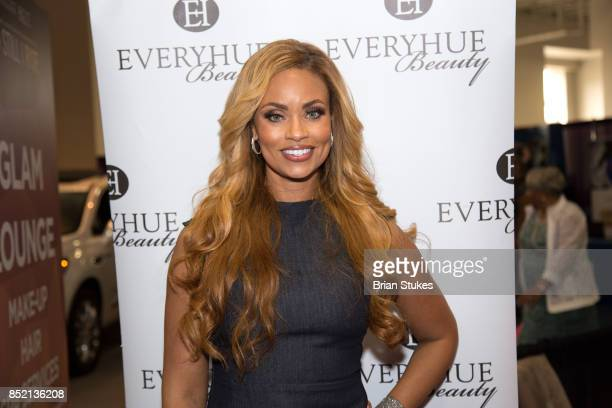 TV personality Gizelle Bryant hosts 'Hue Beauty' during 47th Annual Legislative Conference Exhibit at Walter E Washington Convention Center on...