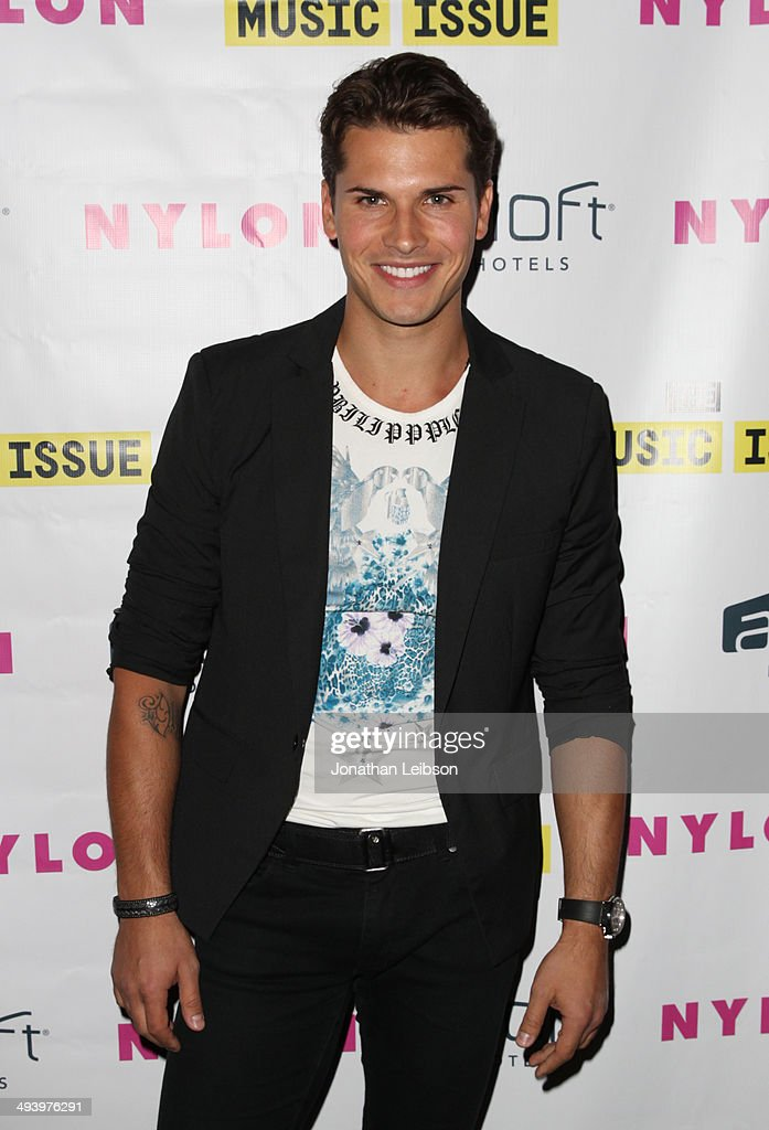 TV personality Gleb Savchenko attends NYLON x Aloft Hotels celebrate The Music Issue with cover star HAIM on May 26, 2014 in Los Angeles, California.