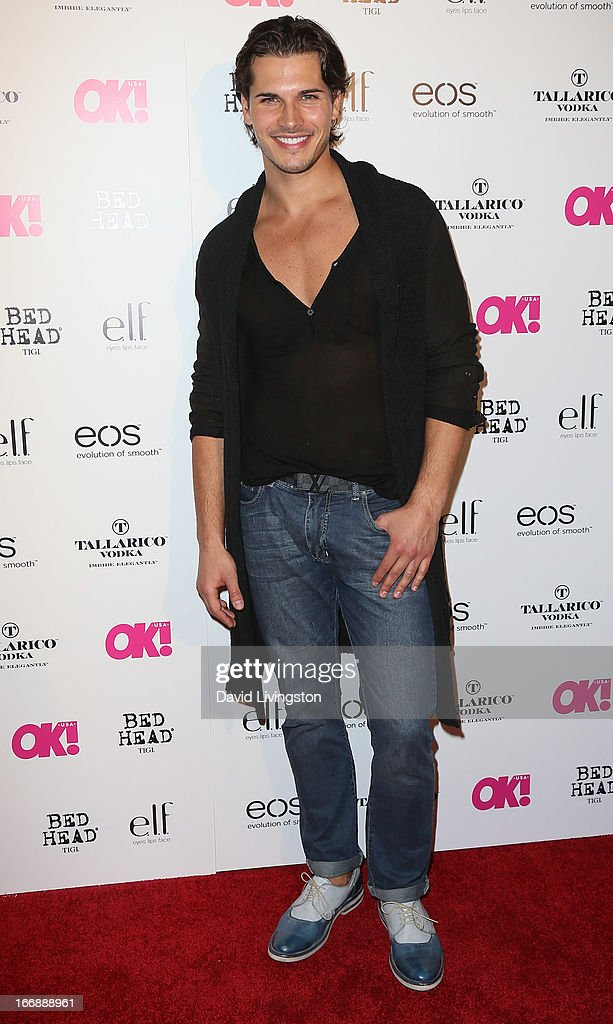 TV personality Gleb Savchenko attends the OK! Magazine 'So Sexy' LA party at SkyBar at the Mondrian Los Angeles on April 17, 2013 in West Hollywood, California.