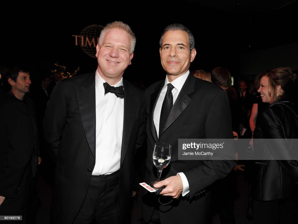 TV Personality Glenn Beck and TIME managing editor Richard Stengel attend Time's 100 Most Influential People in the World Gala at the Frederick P. Rose Hall at Jazz at Lincoln Center on May 5, 2009 in New York City.