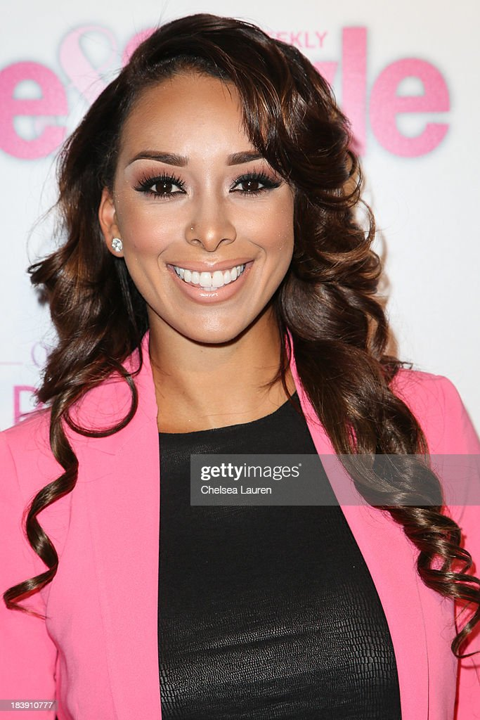 TV personality <a gi-track='captionPersonalityLinkClicked' href=/galleries/search?phrase=Gloria+Govan&family=editorial&specificpeople=7070564 ng-click='$event.stopPropagation()'>Gloria Govan</a> arrives at Life & Style's Hollywood in Bright Pink event hosted by Giuliana Rancic at Bagatelle on October 9, 2013 in Los Angeles, California.