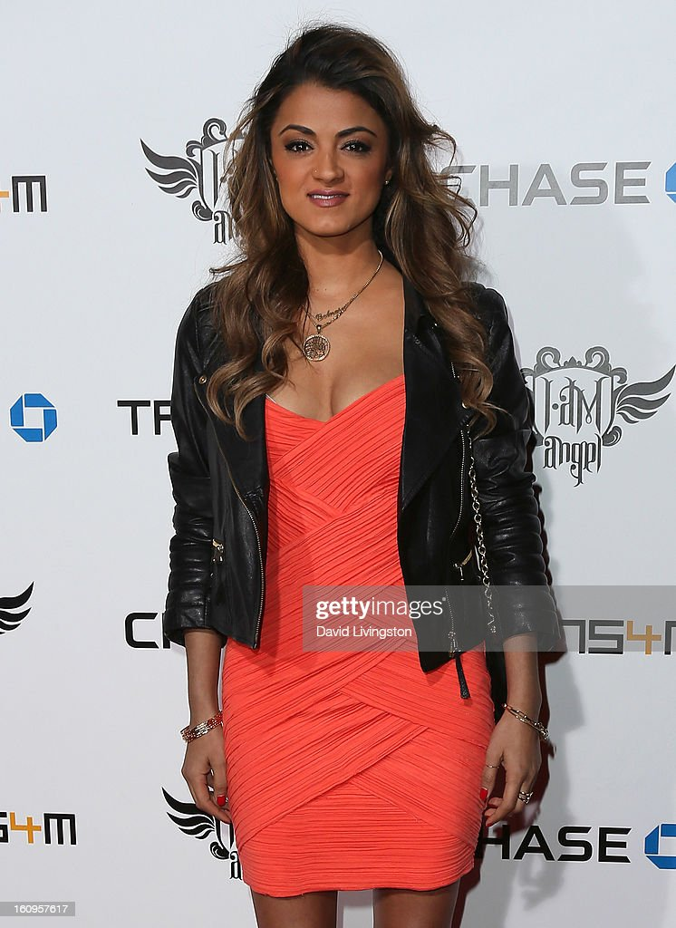 TV personality Golnesa 'GG' Gharachedaghi attends the 2nd Annual will.i.am TRANS4M Boyle Heights benefit concert at Avalon on February 7, 2013 in Hollywood, California.