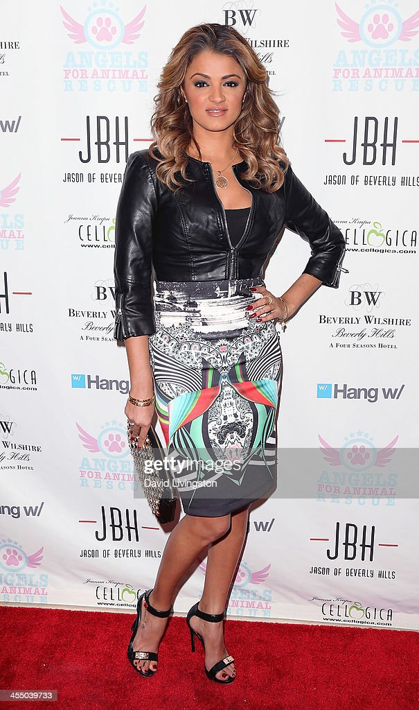 TV personality Golnesa 'GG' Gharachedaghi attends the Angels for Animal Rescue Benefit hosted by Joanna Krupa at the Beverly Wilshire Four Seasons Hotel on December 10, 2013 in Beverly Hills, California.