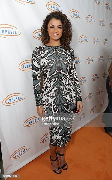TV personality Golnesa 'GG' Gharachedaghi attends the Lupus LA Orange Ball on May 8 2014 in Beverly Hills California