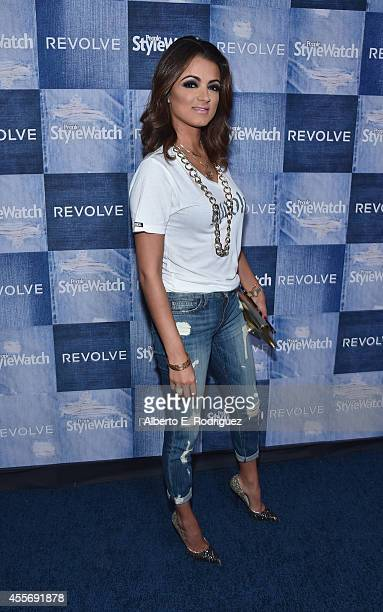 TV personality Golnesa 'GG' Gharachedaghi attends the People StyleWatch Denim Event at The Line on September 18 2014 in Los Angeles California