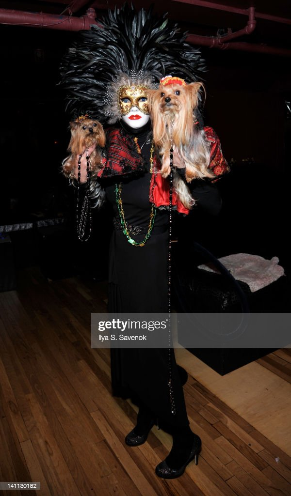 TV personality Grace Forster attends Celebrity Catwalk: Mardi Paws Back In Black at Shadow on March 10, 2012 in New York City.