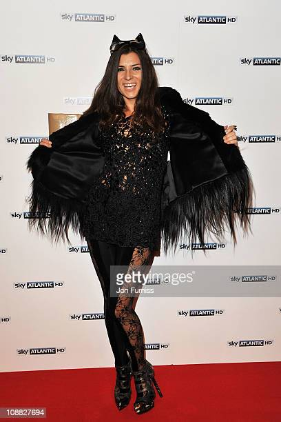 TV personality Grace Woodward attends the launch party for Sky Atlantic HD on February 4 2011 in London England