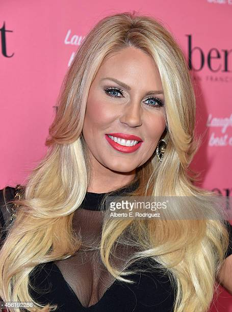 TV personality Gretchen Rossi attends Benefit Cosmetic's 1st Annual National Wing Women Weekend VIP Launch at Space 15 Twenty on September 26 2014 in...