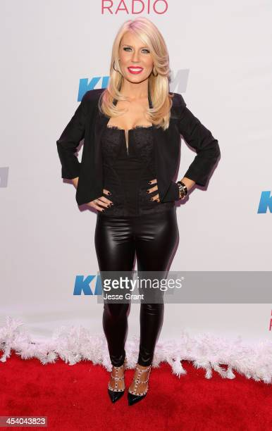 TV personality Gretchen Rossi attends KIIS FM's Jingle Ball 2013 at Staples Center on December 6 2013 in Los Angeles CA