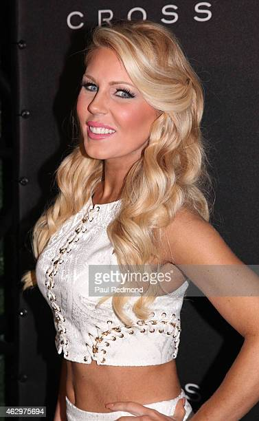 TV personality Gretchen Rossi attends Primary Wave 9th Annual PreGrammy Prty at RivaBella on February 7 2015 in West Hollywood California