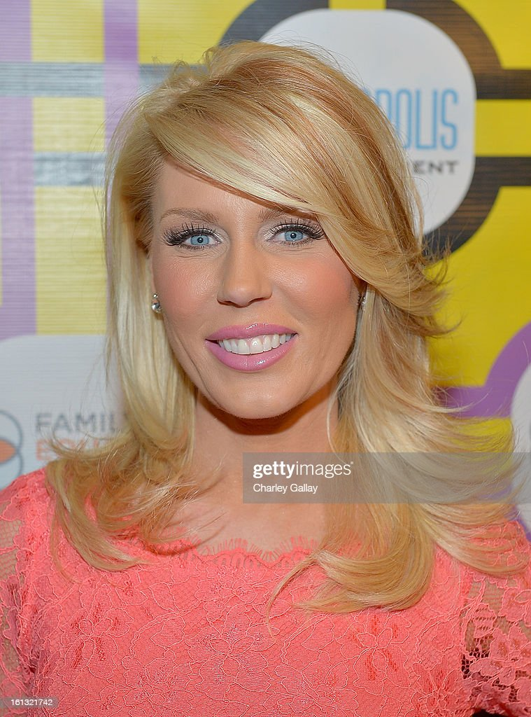 TV personality <a gi-track='captionPersonalityLinkClicked' href=/galleries/search?phrase=Gretchen+Rossi&family=editorial&specificpeople=5637804 ng-click='$event.stopPropagation()'>Gretchen Rossi</a> attends the Family Equality Council LA Awards Dinner at The Globe Theatre at Universal Studios on February 9, 2013 in Universal City, California.