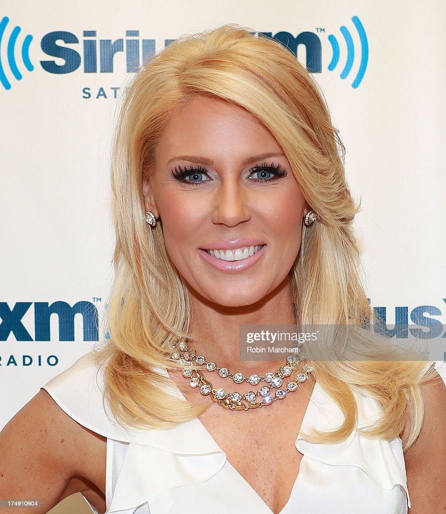 TV personality <a gi-track='captionPersonalityLinkClicked' href=/galleries/search?phrase=Gretchen+Rossi&family=editorial&specificpeople=5637804 ng-click='$event.stopPropagation()'>Gretchen Rossi</a> visits at SiriusXM Studios on July 29, 2013 in New York City.