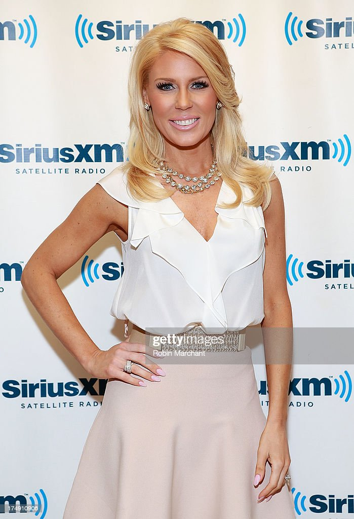TV personality Gretchen Rossi visits at SiriusXM Studios on July 29, 2013 in New York City.