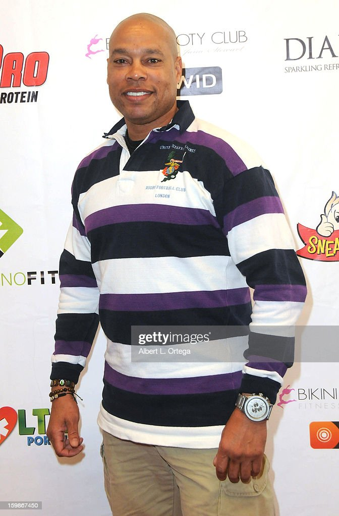 TV personality Harvey Walden participates in the Red Carpet Health Expo held at The Vitamin Shoppe on January 12, 2013 in Los Angeles, California.