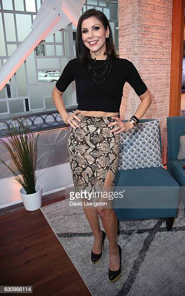 TV personality Heather Dubrow visits Hollywood Today Live at W Hollywood on January 4 2017 in Hollywood California