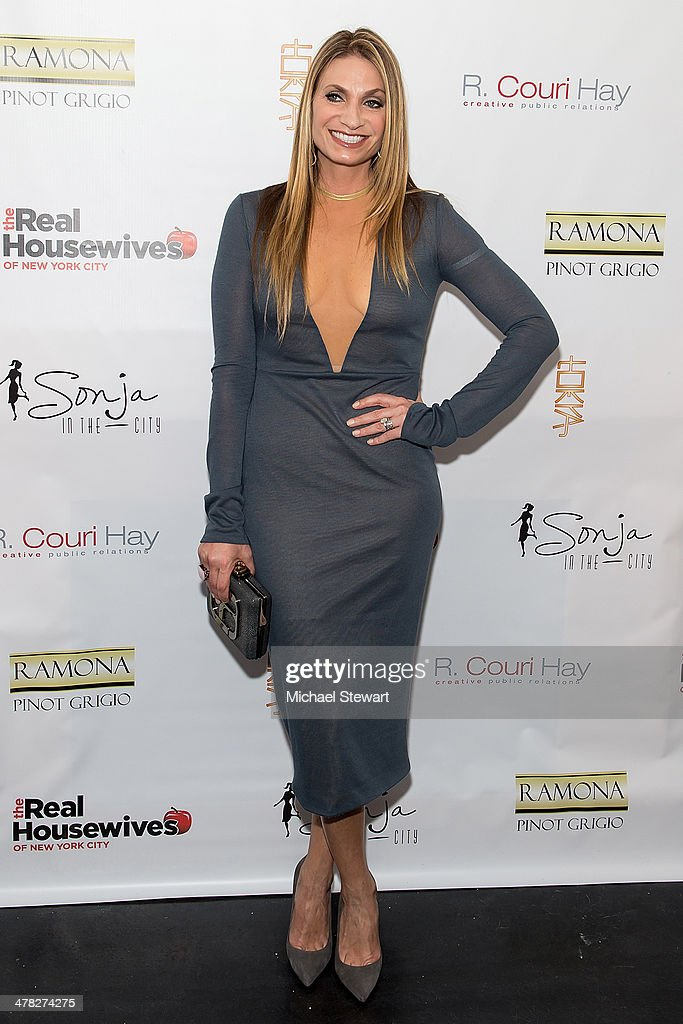 TV personality Heather Thomson attends the 'The Real Housewives Of New York City' season six premiere party at Tokya on March 12, 2014 in New York City.