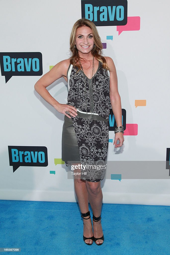 TV personality Heather Thomson of 'The Real Housewives of New York' attends the 2013 Bravo Upfront at Pillars 37 Studios on April 3, 2013 in New York City.