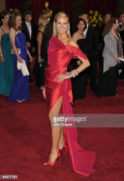 TV personality Heidi Klum arrives at the 81st Annual Academy Awards held at The Kodak Theatre on February 22 2009 in Hollywood California