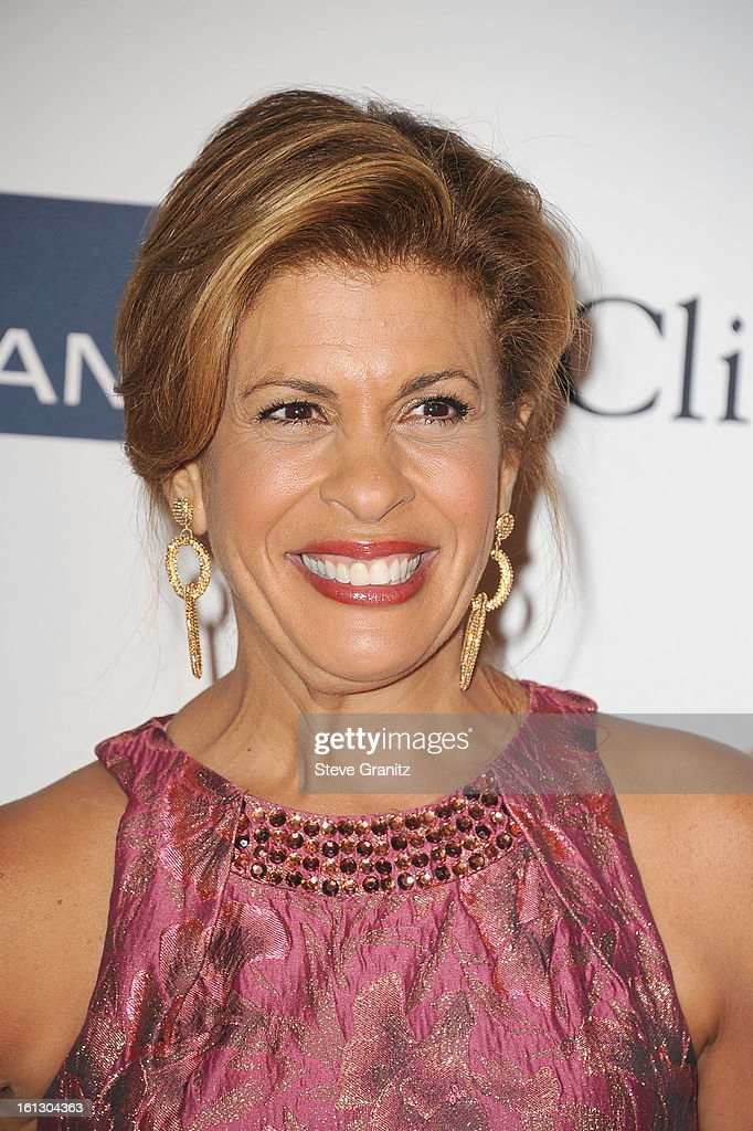 TV personality Hoda Kotb arrives at the 55th Annual GRAMMY Awards Pre-GRAMMY Gala and Salute to Industry Icons honoring L.A. Reid held at The Beverly Hilton on February 9, 2013 in Los Angeles, California.