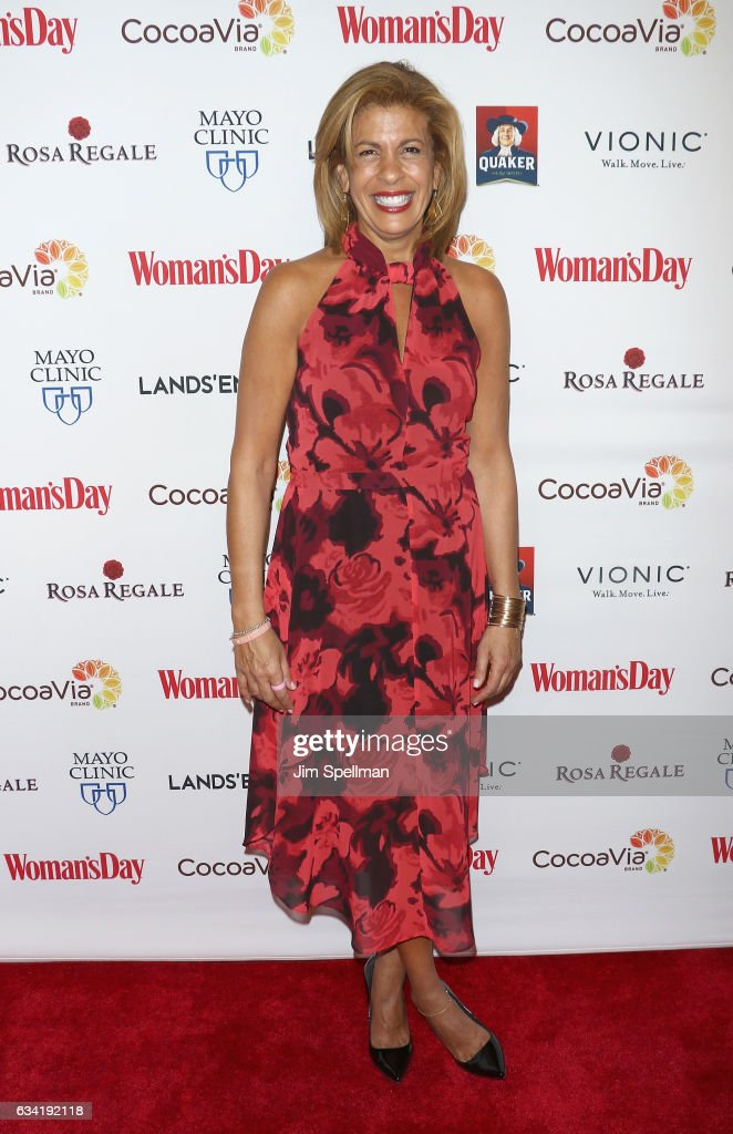 TV personality Hoda Kotb attends the 14th annual Woman's Day Red Dress Awards at Jazz at Lincoln Center on February 7, 2017 in New York City.