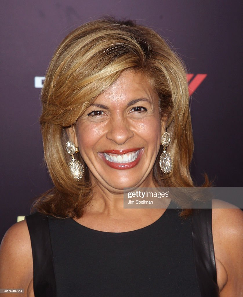 TV Personality <a gi-track='captionPersonalityLinkClicked' href=/galleries/search?phrase=Hoda+Kotb&family=editorial&specificpeople=2338013 ng-click='$event.stopPropagation()'>Hoda Kotb</a> attends the 'Anchorman 2: The Legend Continues' U.S. premiere at Beacon Theatre on December 15, 2013 in New York City.