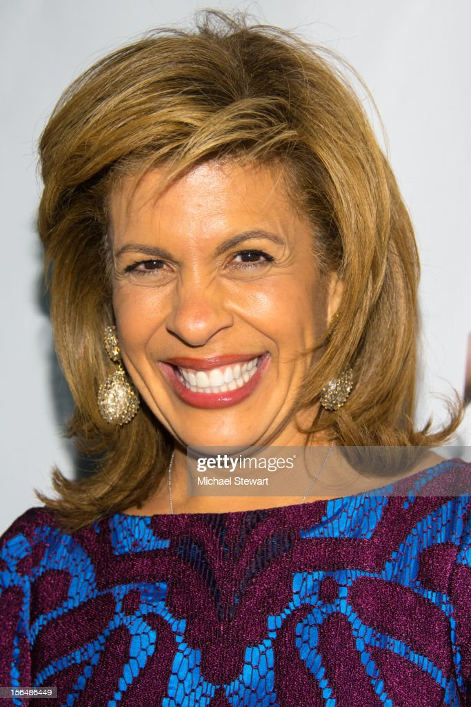 TV personality <a gi-track='captionPersonalityLinkClicked' href=/galleries/search?phrase=Hoda+Kotb&family=editorial&specificpeople=2338013 ng-click='$event.stopPropagation()'>Hoda Kotb</a> attends the 'Scandalous' Broadway Opening Night' at Neil Simon Theatre on November 15, 2012 in New York City.