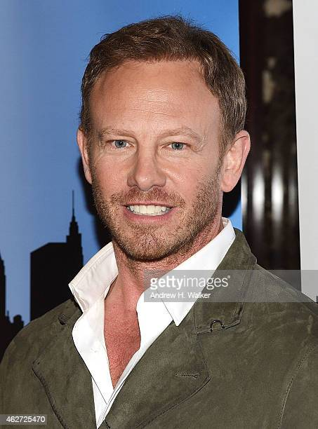 TV personality Ian Ziering attends a 'Celebrity Apprentice' red carpet event at Trump Tower on February 3 2015 in New York City