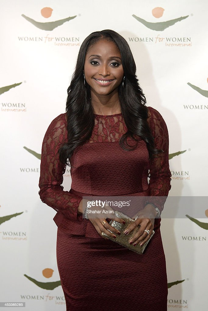 TV personality Isha Sesay attends the Women for Women 20th Anniversary Gala celebration at the American Museum of Natural History on December 3, 2013 in New York City.