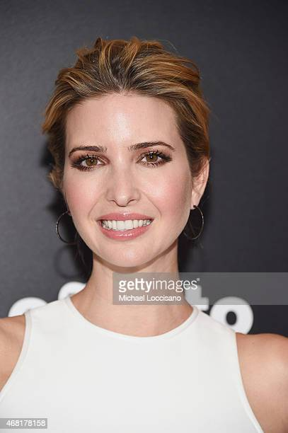 TV personality Ivanka Trump attends the 'Woman In Gold' New York premiere at The Museum of Modern Art on March 30 2015 in New York City