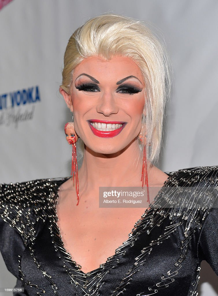 TV personality Ivy Winters arrives to the premiere of 'RuPaul's Drag Race' Season 5 at The Abbey on January 22, 2013 in West Hollywood, California.
