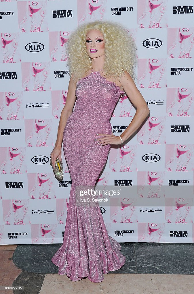 TV personality Ivy Winters attends 'Anna Nicole The Opera' Opening Night at Skylight One Hanson on September 17, 2013 in New York City.
