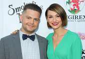 Personality Jack Osbourne and Actress Lisa Stelly attend the annual 'Summer Spectacular Under The Stars' for the Brent Shapiro foundation for alcohol...