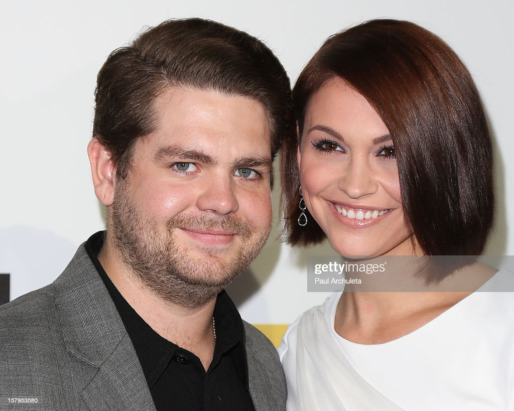TV Personality <a gi-track='captionPersonalityLinkClicked' href=/galleries/search?phrase=Jack+Osbourne&family=editorial&specificpeople=202112 ng-click='$event.stopPropagation()'>Jack Osbourne</a> (L) and his wife Lisa Stelly attend Spike TV's 10th Annual Video Game Awards at Sony Pictures Studios on December 7, 2012 in Culver City, California.