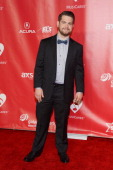 TV personality Jack Osbourne arrives at he 2013 MusiCares Person Of The Year Gala Honoring Bruce Springsteen at Los Angeles Convention Center on...