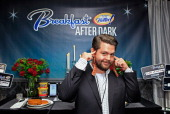 TV personality Jack Osbourne attends the I Can't Believe It's Not Butter 'Breakfast After Dark' Gift Lounge at The 28th Rock and Roll Hall of Fame...