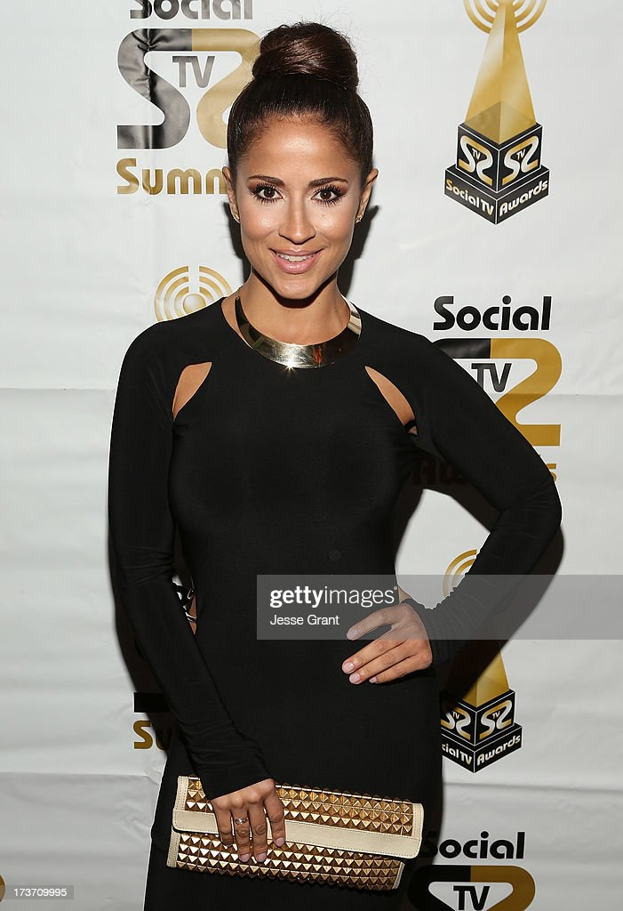 TV personality Jackie Guerrido attends the 2nd Annual Social TV Awards at Bel-Air Country Club on July 16, 2013 in Los Angeles, California.