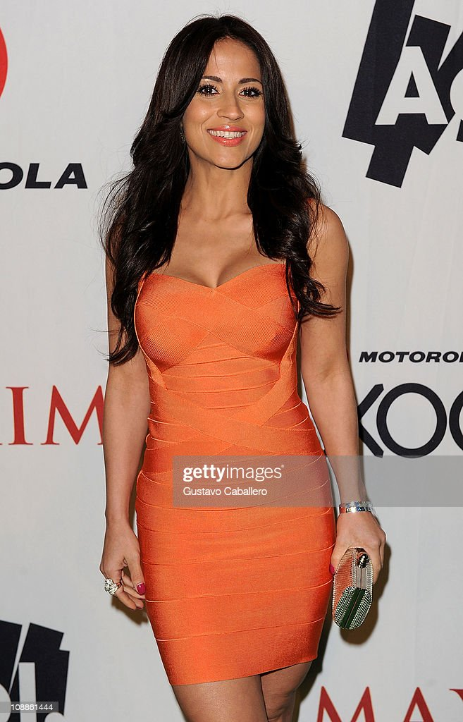 TV Personality Jackie Guerrido attends the Maxim Party Powered by Motorola Xoom at Centennial Hall at Fair Park on February 5, 2011 in Dallas, Texas.
