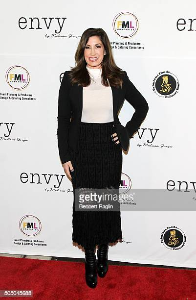 TV personality Jacqueline Laurita attends the grand opening of envy by Melissa Gorga Boutique on January 14 2016 in Montclair New Jersey