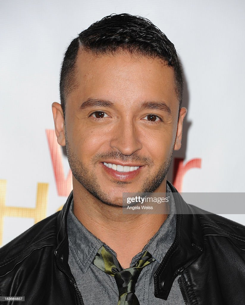TV personality <a gi-track='captionPersonalityLinkClicked' href=/galleries/search?phrase=Jai+Rodriguez+-+Actor&family=editorial&specificpeople=202956 ng-click='$event.stopPropagation()'>Jai Rodriguez</a> arrrives at the opening night for 'War Horse' at the Pantages Theatre on October 8, 2013 in Hollywood, California.