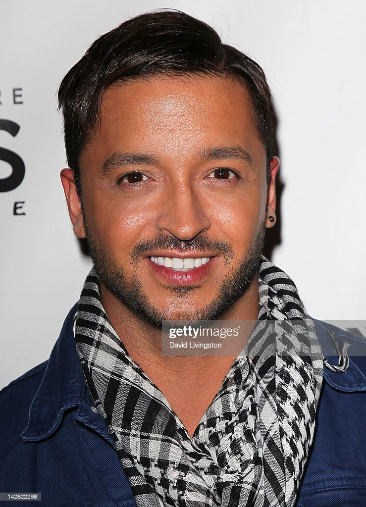 TV personality <a gi-track='captionPersonalityLinkClicked' href=/galleries/search?phrase=Jai+Rodriguez+-+Actor&family=editorial&specificpeople=202956 ng-click='$event.stopPropagation()'>Jai Rodriguez</a> attends the opening night of 'Billy Elliot' at the Pantages Theatre on April 12, 2012 in Hollywood, California.