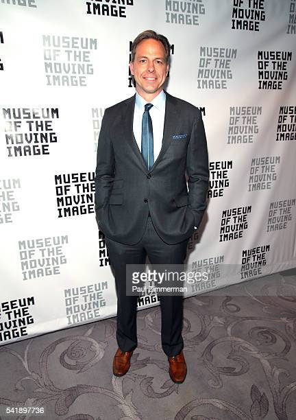 TV personality Jake Tapper attends the Museum Of The Moving Image Honors Netflix Chief Content Officer Ted Sarandos And Seth Meyers at St Regis Hotel...