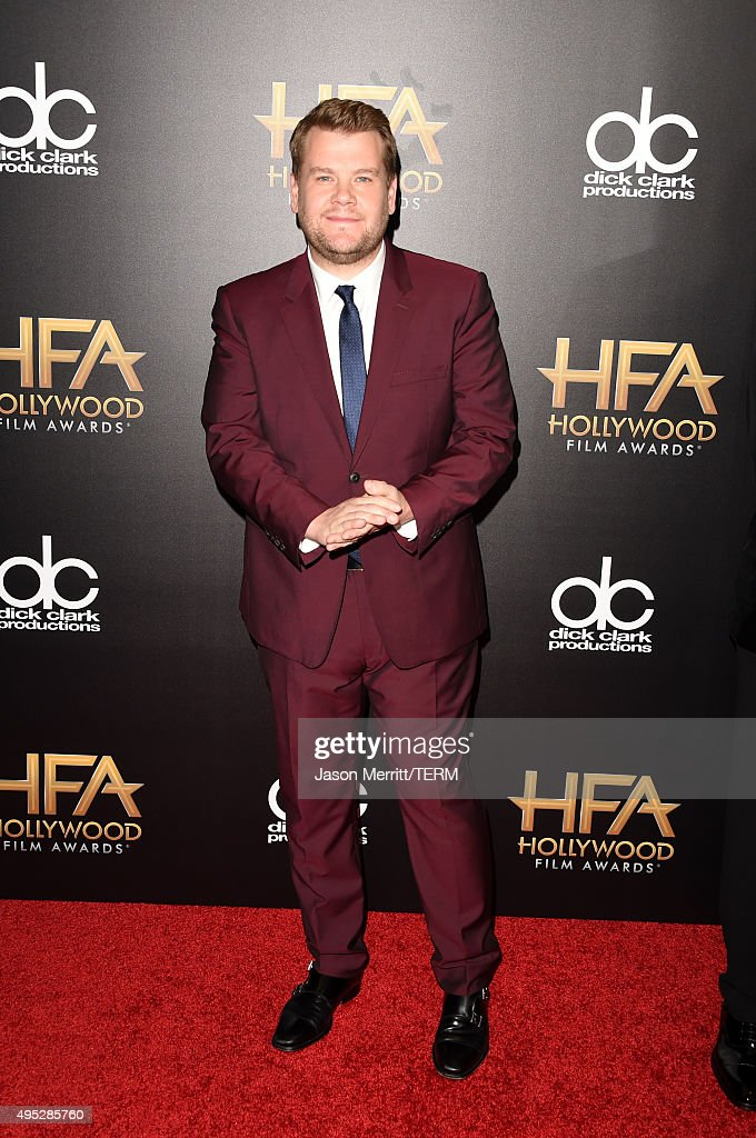 TV personality <a gi-track='captionPersonalityLinkClicked' href=/galleries/search?phrase=James+Corden&family=editorial&specificpeople=673860 ng-click='$event.stopPropagation()'>James Corden</a> attends the 19th Annual Hollywood Film Awards at The Beverly Hilton Hotel on November 1, 2015 in Beverly Hills, California.