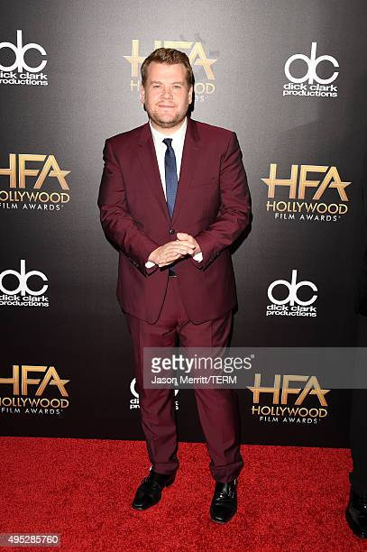 TV personality James Corden attends the 19th Annual Hollywood Film Awards at The Beverly Hilton Hotel on November 1 2015 in Beverly Hills California